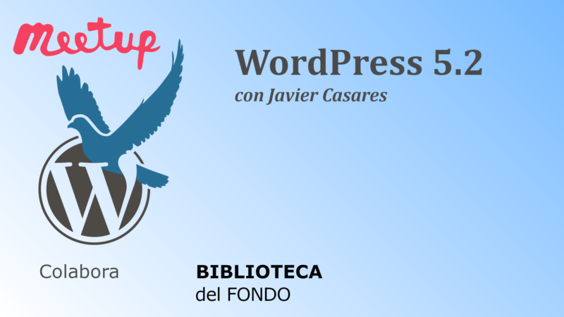 Vídeo: WordPress 5.2