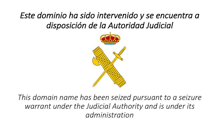 Cómo evitar que un gobierno (el español, por ejemplo) cierre una web...