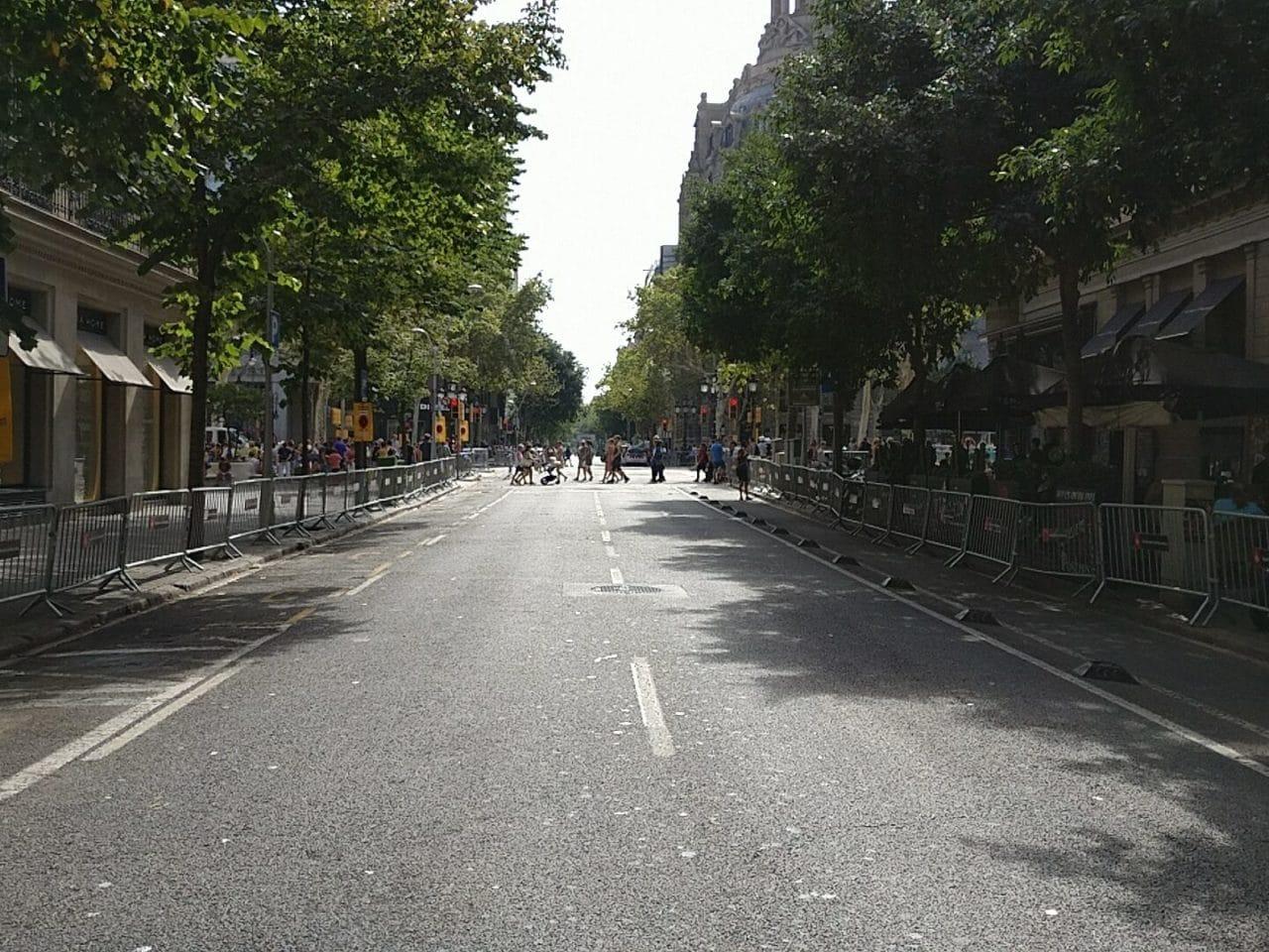 #NoTincPor, una tarde por Barcelona