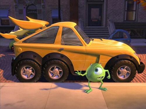 Cortos de Pixar: El coche nuevo de Mike