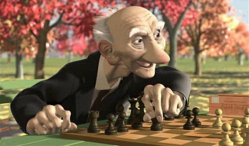 Cortos de Pixar: El juego de Geri