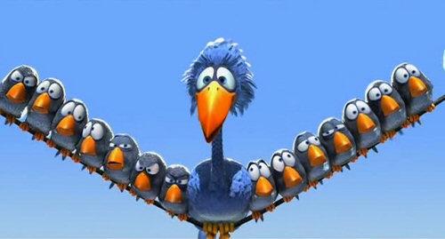 Cortos de Pixar: Pájaros