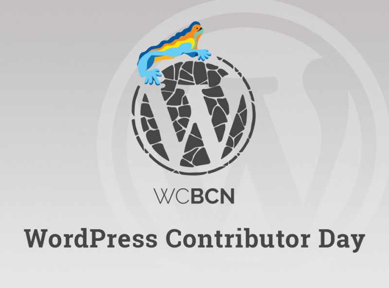 WCBCN 2018: Contributor Day