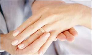 El matrimonio hace feliz a la gente