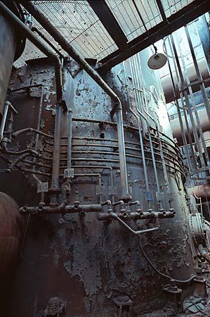 fábrica de acero
