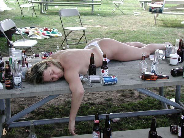 después de una fiesta...