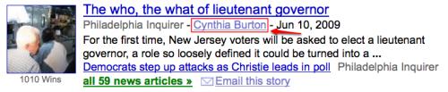Autores en Google News