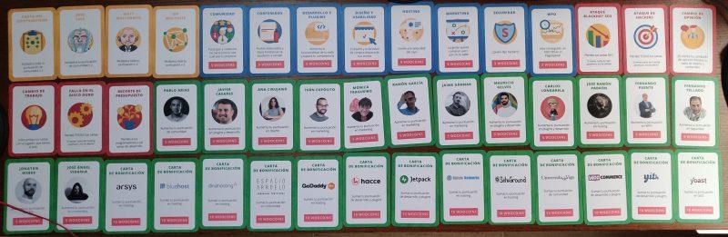 Las cartas de la PonteWordCamp 2018