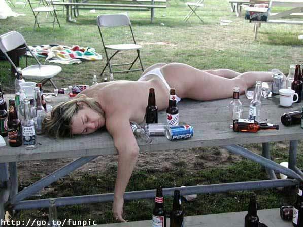 chicas borrachas