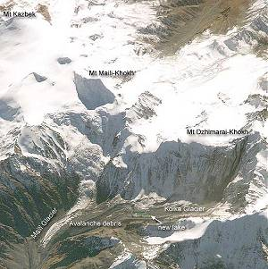 El Colapso del Glaciar