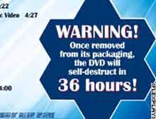 Promocionan película de James Bond en DVD que se ''autodestruye'' en 36 horas