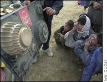 Una fábrica ucraniana transforma las minas terrestres en juguetes