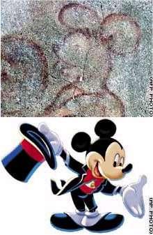 ¿El ratón Mickey en un fresco medieval de hace 700 años?