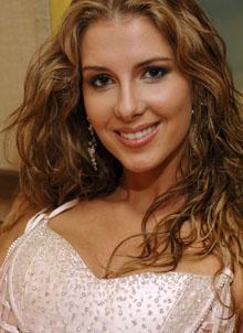 Miss Brasil - Carina Beduschi