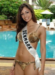 Miss Dinamarca - Gitte Hanspal