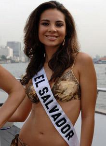 Miss El Salvador - Irma Dimas
