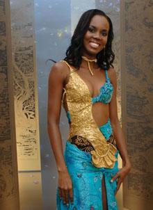 Miss Guyana - Candisie Franklin