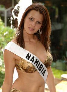 Miss Namibia - Adele Basson