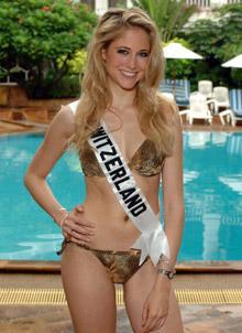 Miss Suiza - Fiona Hefti