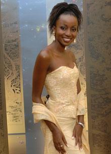 Miss Zambia - Cynthia Kanema