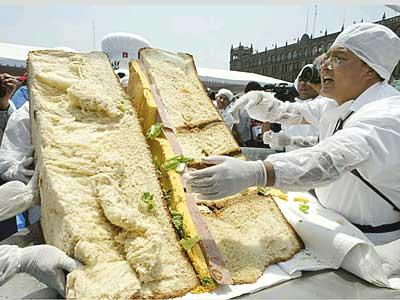 el Sandwich más grande