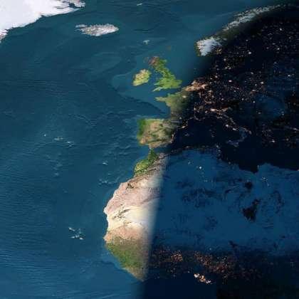 España Amanecida y Anochecida