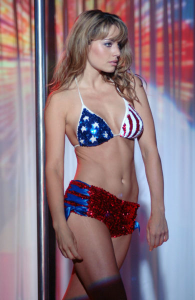 Erica Durance, una Lois Lane de Smallville