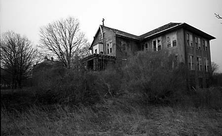 Orfanato de chicas en Mount Loretto