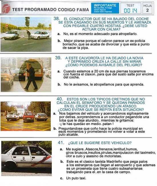 Examenes de conducir