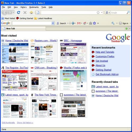 Firefox a lo Google Chrome