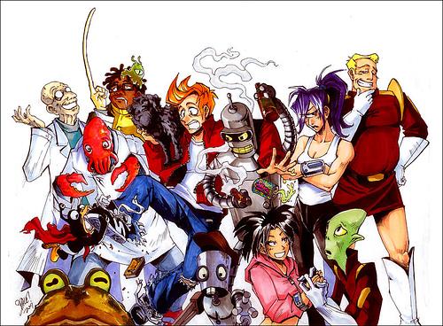 Si Futurama fuera de Marvel...