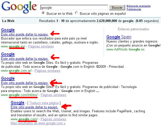 Google en Google