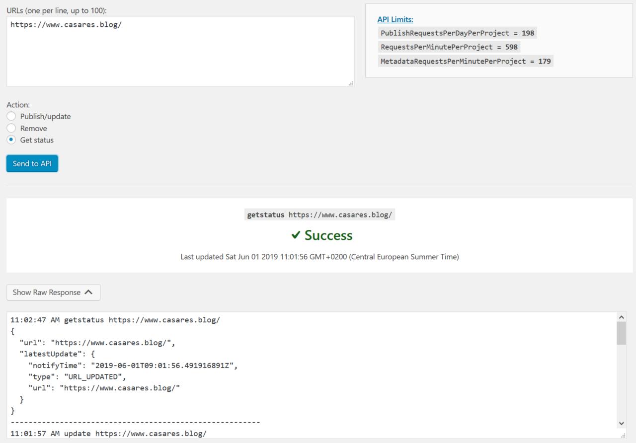 Cómo usar la Indexing API con WordPress