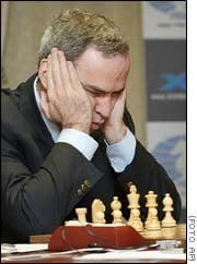 Kasparov derrota a ''Deep Junior'' en primer partido de ajedrez