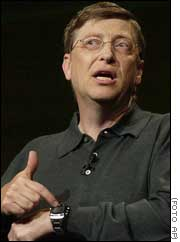 Bill Gates anuncia relojes Microsoft