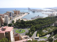 El viernes por la tarde en Málaga