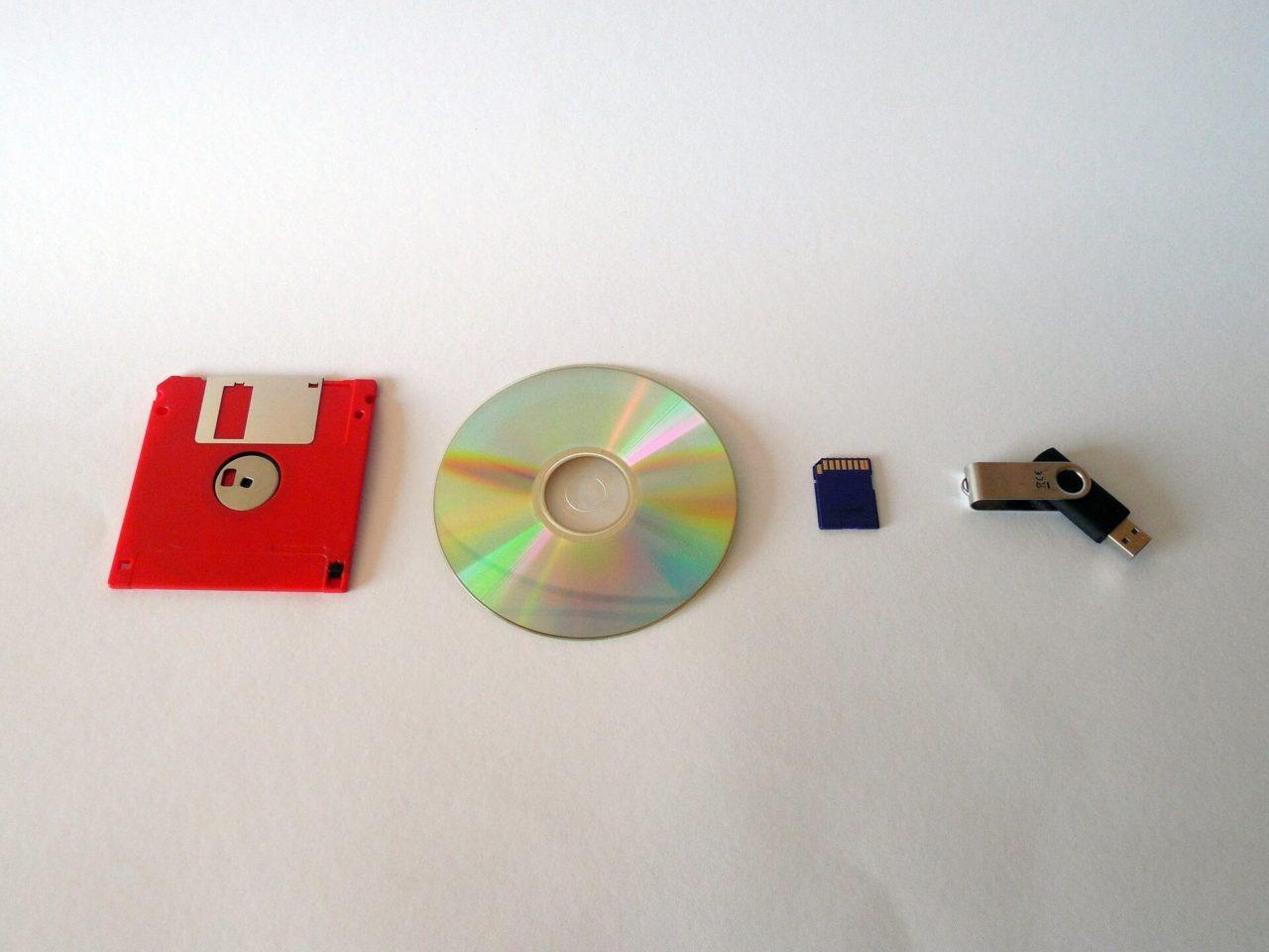 Internet, en un disco flexible
