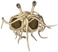 Me convierto al Pastafarismo