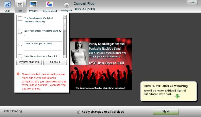 Yahoo! My Display Ads