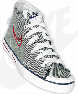 Nike Carpi Canvas Mid color gris