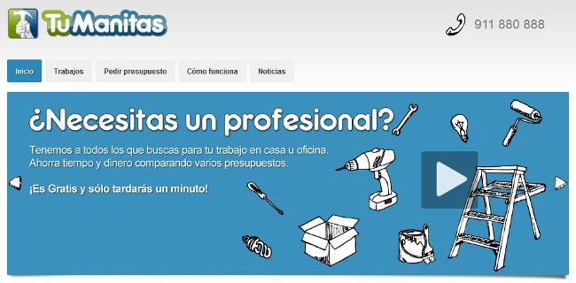 TuManitas, ¿primera web comercial en HTML 5?