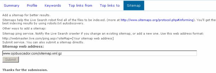 Live Webmaster Tools