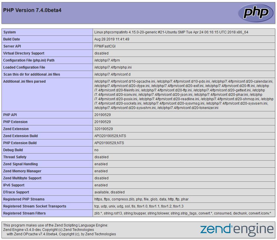 Configurar extensiones PHP, para WordPress