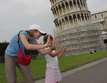 Aguanta la Torre de Pisa