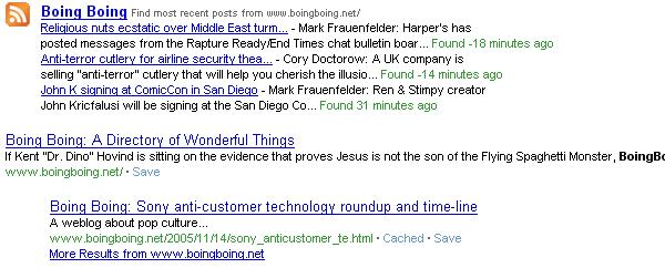 Ask añade feeds como respuestas rápidas