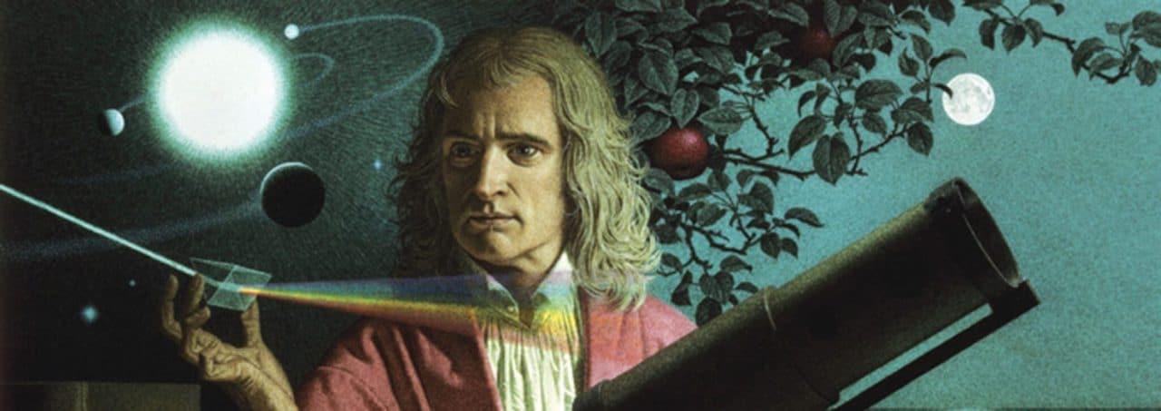 Ladrones roban las leyes de la gravedad de Newton