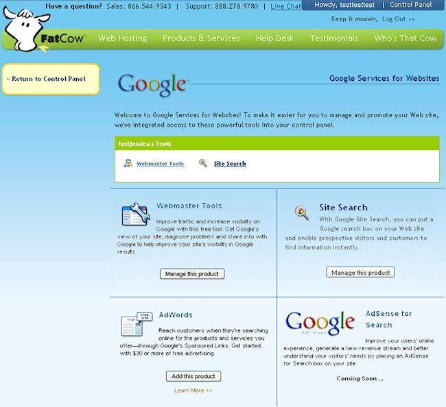 Google Webmasters Apps