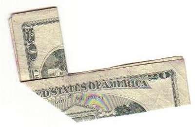 Lo que da de sí un billete de 20 dólares
