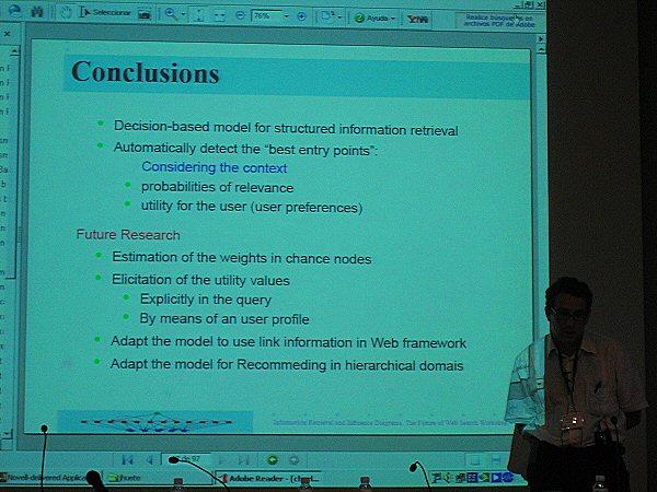 Yahoo! Workshop: Retrieval Foundations
